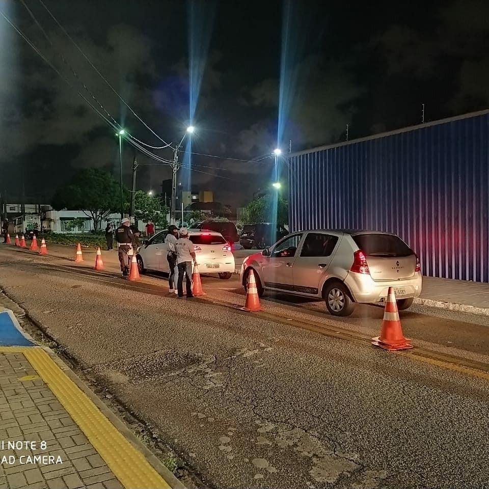 Operação Lei Seca autua 104 motoristas por embriaguez ao volante em Natal