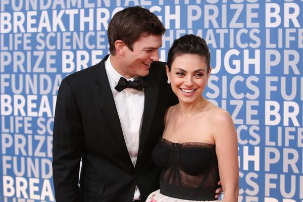 Ashton Kutcher e Mila Kunis (Foto: Getty Images)