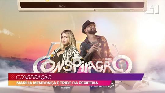 Marília Mendonça deixa sofrência e canta rap em 'Conspiração' com Tribo da Periferia