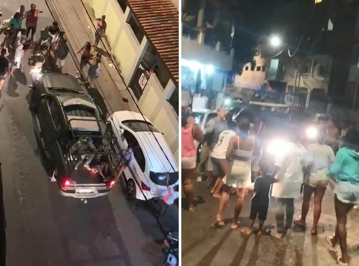 Vídeos mostram confronto de moradores de Bonfim com polícia após prisão em Vitória