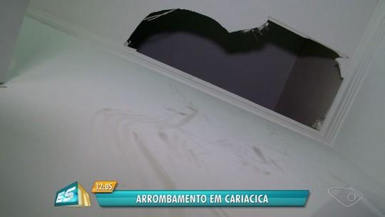 Salão de beleza é invadido e assaltado em Campo Grande, Cariacica, ES