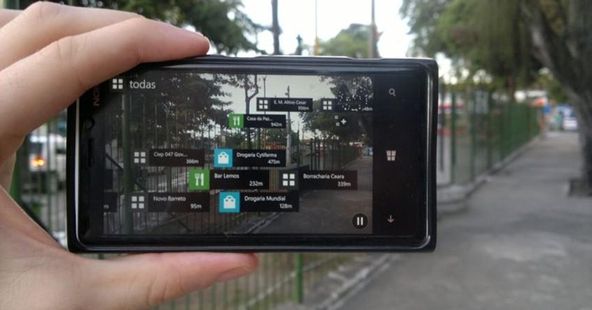 Veja como usar o recurso de realidade aumentada no Here Maps para WP