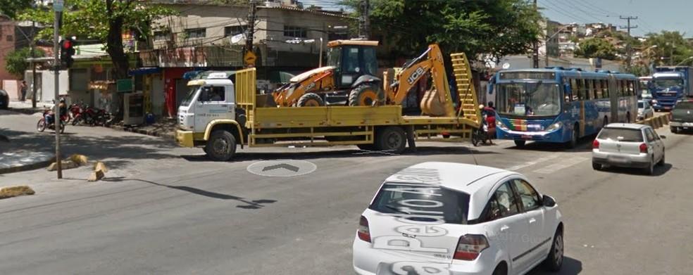 Largo Dom Luiz, na área do Morro da Conceição, na Zona Norte do Recife, terá  mudanças de trânsito e transporte (Foto: Reprodução/Google Street View)