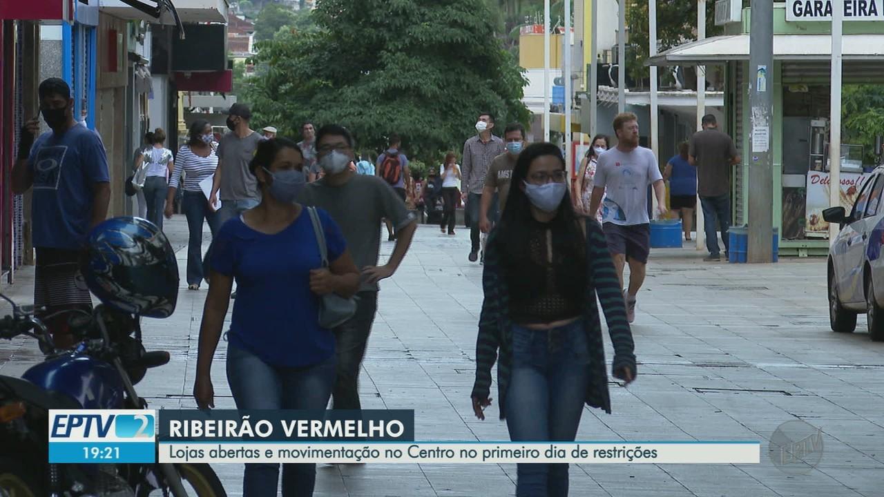 Ribeirão Preto, SP, tem primeiro dia na fase vermelha com movimento no comércio