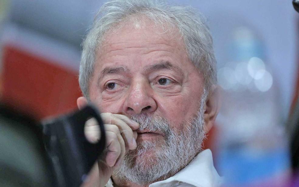 O ex-presidente Luiz Inácio Lula da Silva (Foto: Kiko Sierich / Futura Press / Estadão Conteúdo)