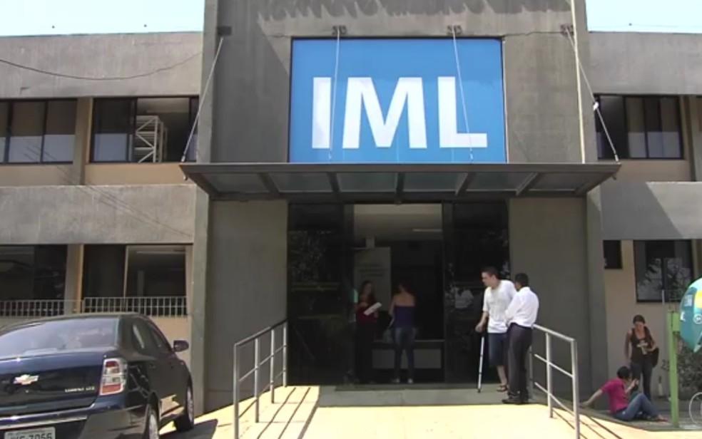 Instituto Médico Legal (IML) em Goiânia, Goiás — Foto: TV Anhanguera/Reprodução