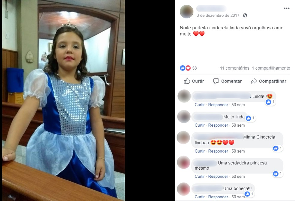 Menina foi socorrida às pressas e levada para a Santa Casa de Bariri — Foto: Reprodução/Facebook
