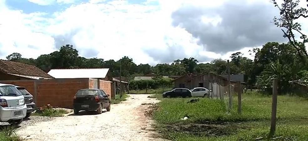 Casas começaram a ser construídas em 2009, com a chegada dos primeiros moradores — Foto: Reprodução/NSC TV