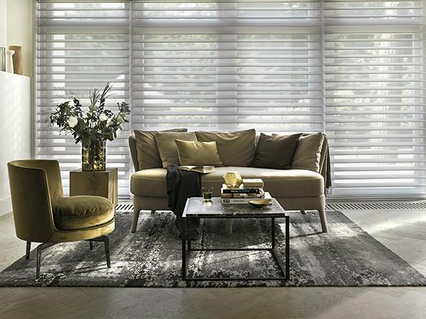 Além de garantir mais praticidade para o seu dia a dia, as cortinas HunterDouglas® oferecem funcionalidade e elegância aos ambientes (Foto: Divulgação)