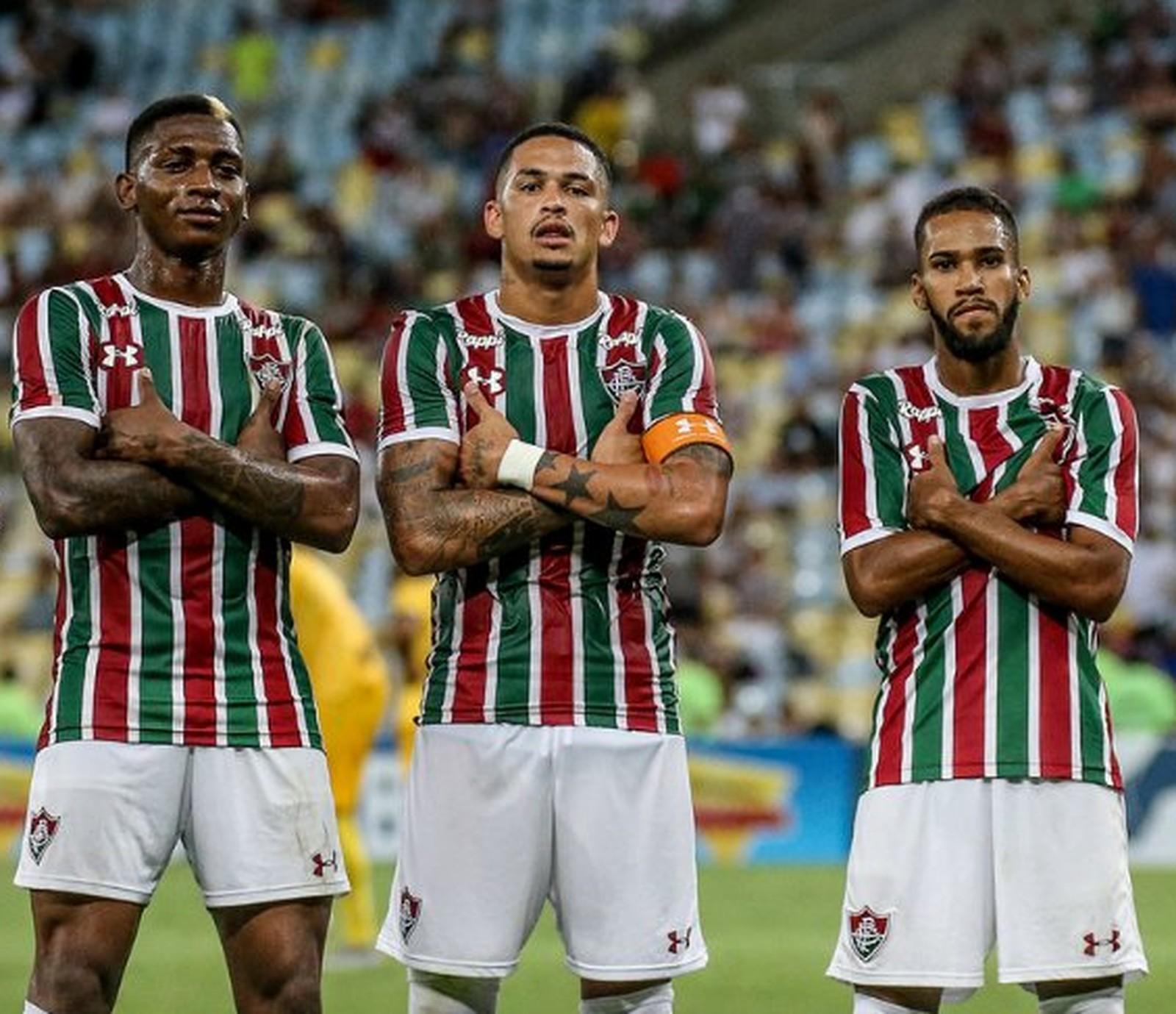 797d69753c Melhor ataque mostra Fluminense promissor