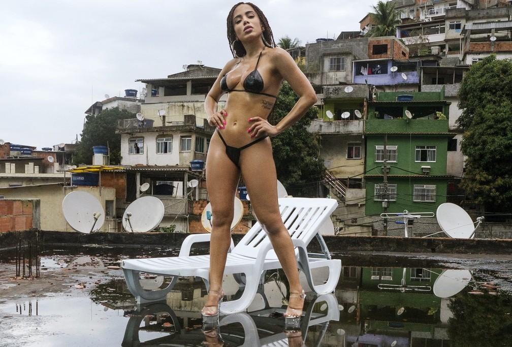 Anitta, cria do funk, foi escalada para o Palco Mundo do Rock in Rio em fase mais pop — Foto: Divulgação