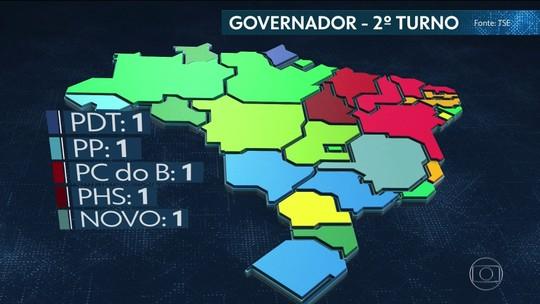 Veja a nova geografia política no Congresso e nos estados