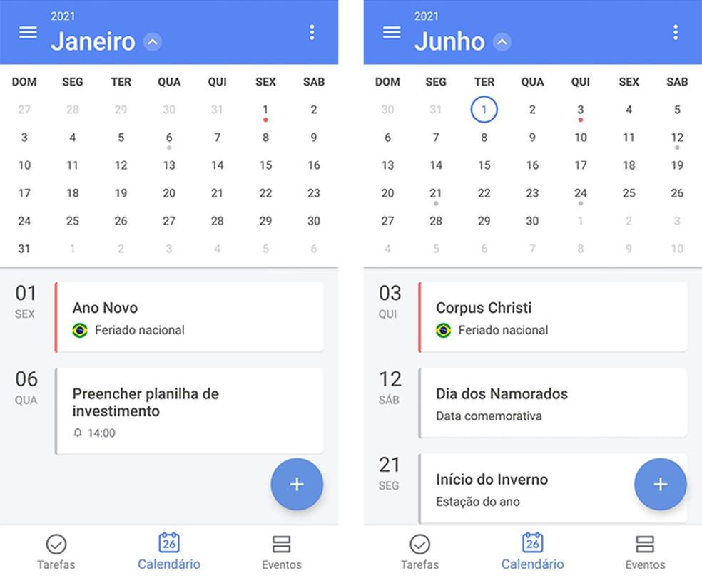 Feriados 2021 Apps De Calendario Mostram Datas Comemorativas Do Ano Produtividade Techtudo