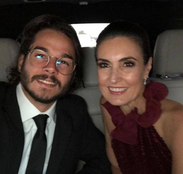 Túlio Gadêlha e Fátima Bernardes (Foto: Reprodução Instagram)