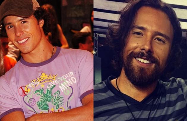 Bernardo Barreto, o mocinho Cauã, é dono da produtora Berny Filmes. Recentemente, fez os roteiros, dirigiu e atuou na série 'Meus dias de rock', do Canal Brasil (Foto: TV Globo e reprodução)