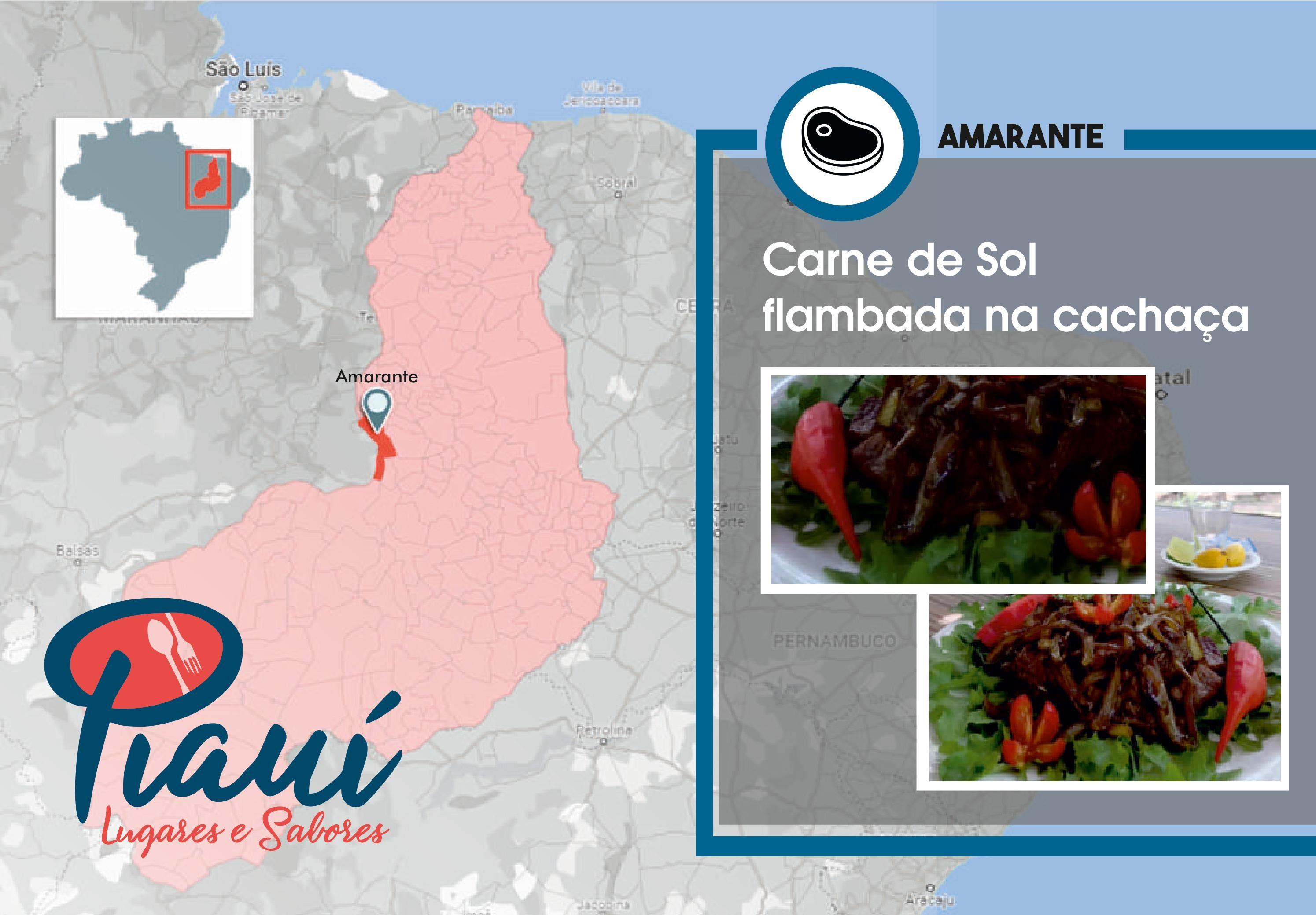 Piauí Lugares e Sabores: guia por Amarante traz carne de sol com cachaça, museus e escadaria em homenagem a poeta