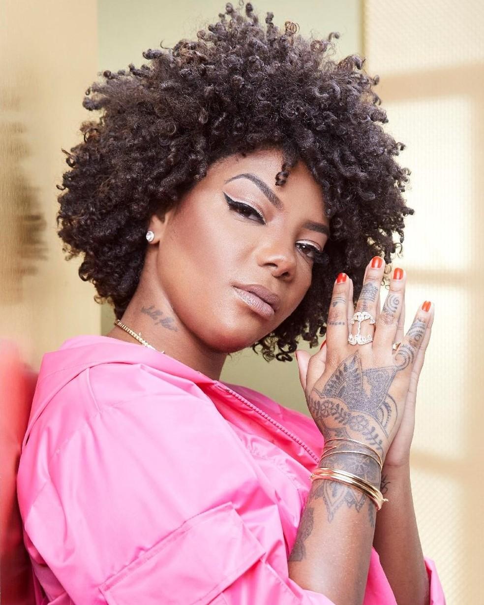 Ludmilla: fios da cantora estão na categoria 4C — Foto: Divulgação