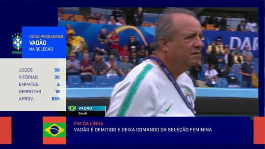 Comentaristas veem demissão de Vadão como simbólica para mudança no futebol feminino