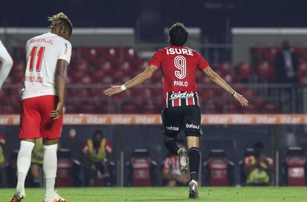 Pablo tem sido um dos destaques do São Paulo — Foto: Rubens Chiri/saopaulofc.net