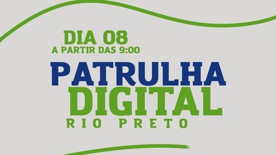 'Patrulha Digital' passa por bairros de Rio Preto