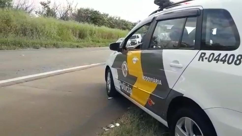 Acidente ocorreu na Rodovia SP-133, em Limeira — Foto: Nivaldo Veloz/Rápido no Ar