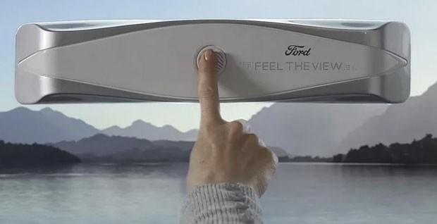 """Janela inteligente permite que deficientes visuais """"sintam"""" a paisagem (Foto: Divulgação)"""