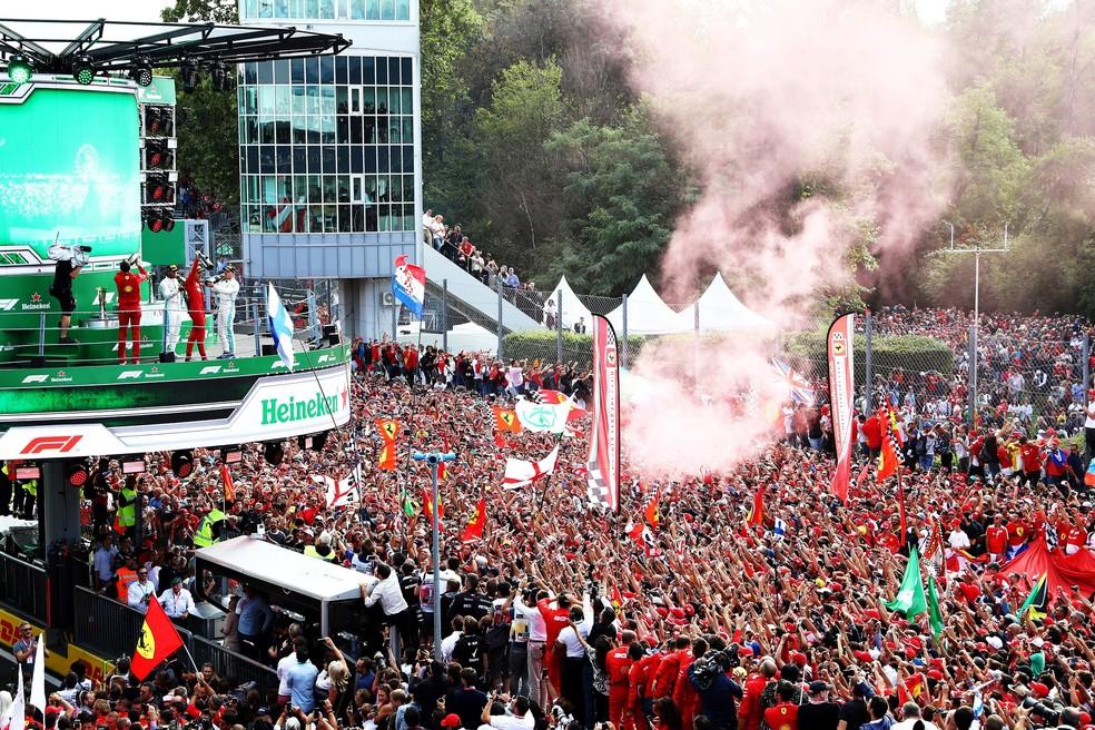 Público não poderá comparecer a Monza no GP da Itália de 2020 — Foto: Getty Images