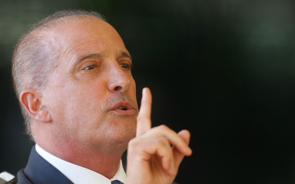 O futuro ministro da Casa Civil, Onyx Lorenzoni — Foto: Dida Sampaio/Estadão Conteúdo
