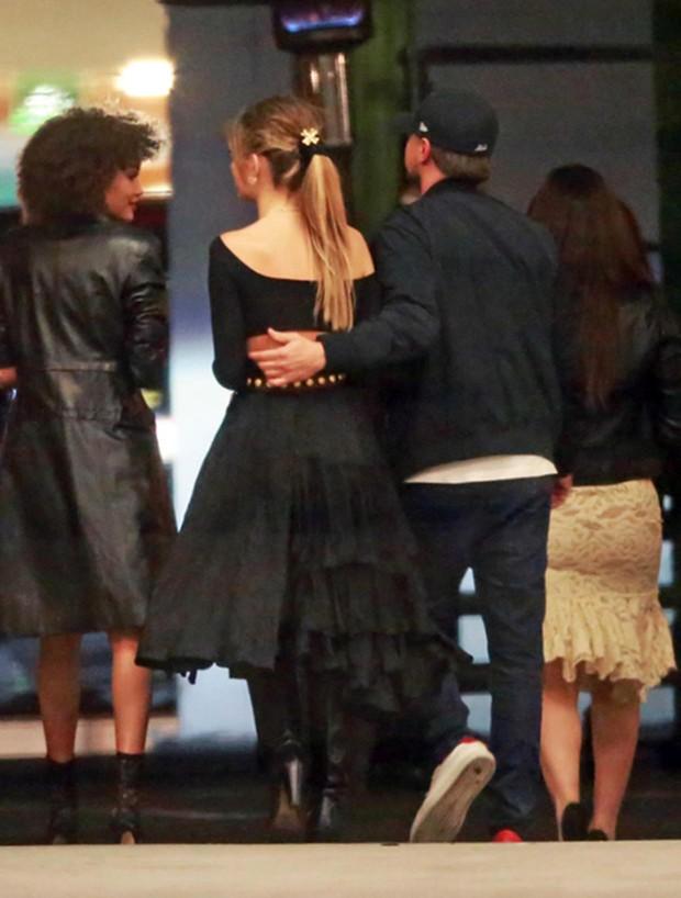 Leonardo DiCaprio e Camila Morrone (Foto: Grosby Group)