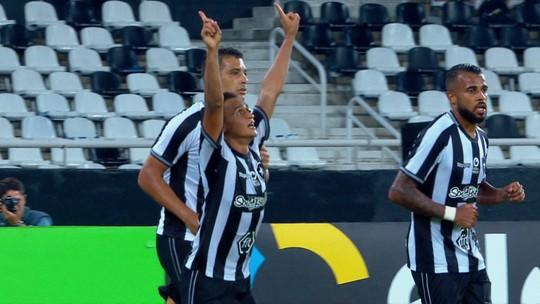 Os gols de Botafogo 1 x 1 Juventude pela terceira fase da Copa do Brasil
