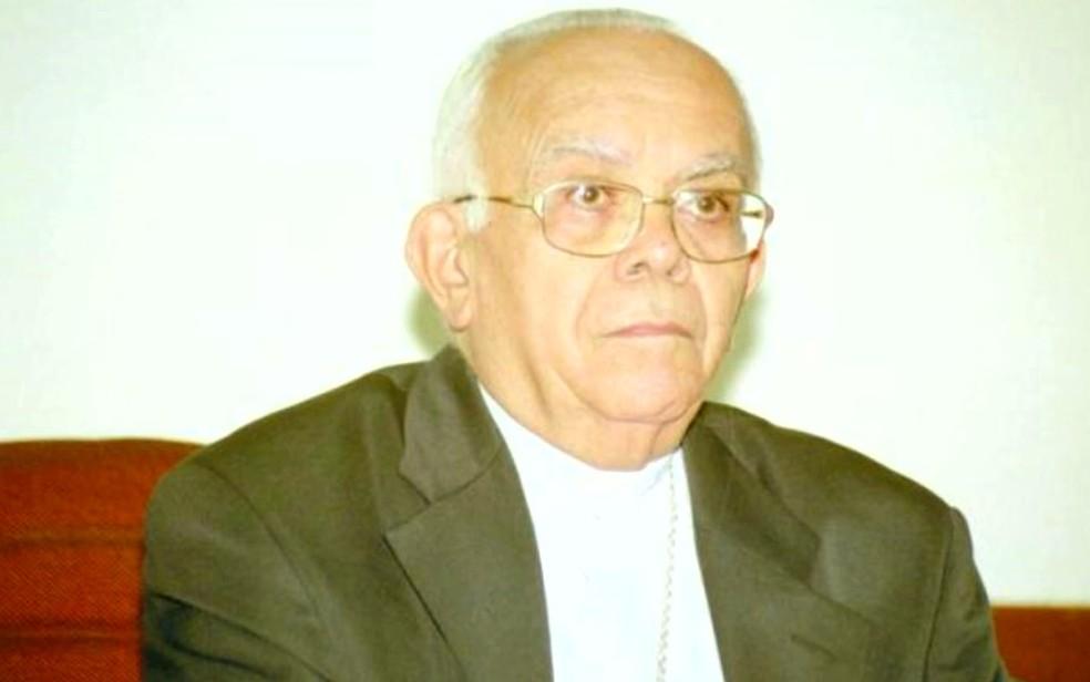 Dom José Carlos Melo foi ordenado sacerdote em Petrópolis (RJ) (Foto: Reprodução/TV Mirante)