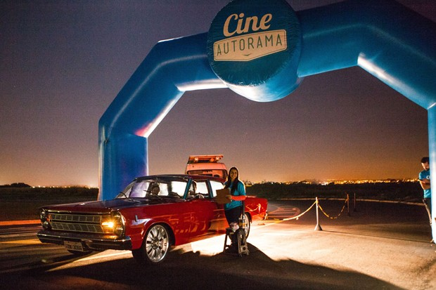 Estádio do Pacaembu recebe sessões de cinema drive-in do Cine Autorama (Foto: Divulgação)