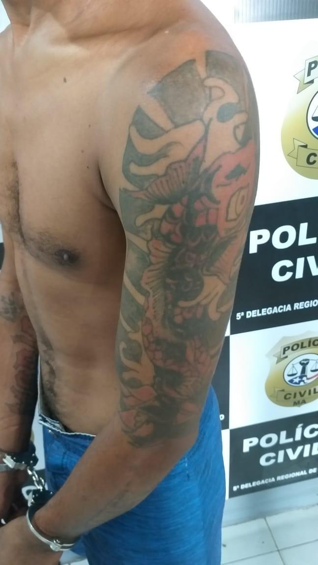 Polícia prende suspeito de roubar e estuprar duas mulheres em Pinheiro