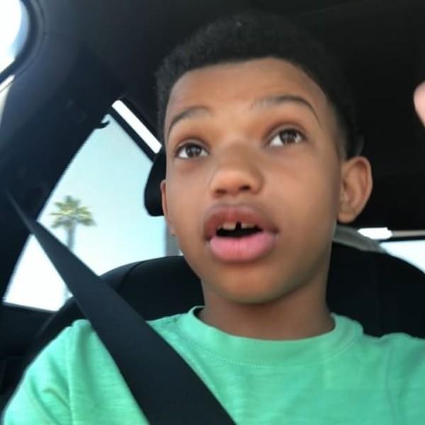 """Lonnie Chavis, de 10 anos, interpreta a versão criança do personagem Randall no seriado """"This Is Us"""" (Foto: Reprodução/Instagram/Lonnie Chavis)"""