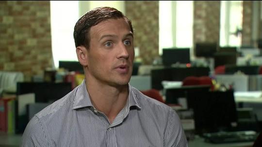 Nadador Ryan Lochte vira réu por comunicação falsa de crime