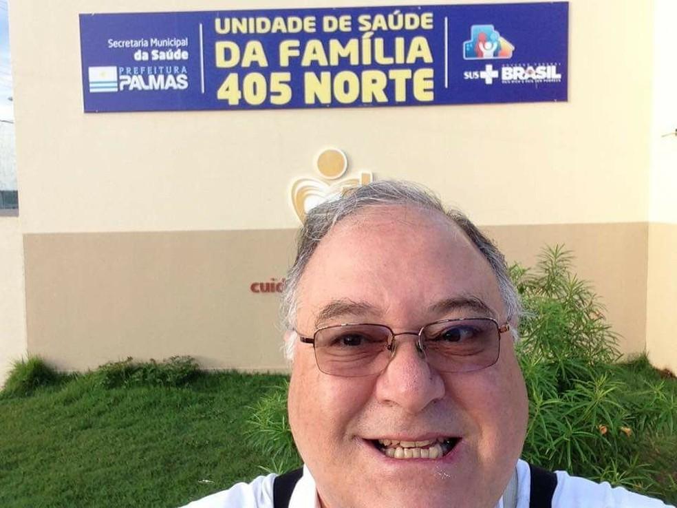 Médico procurado pela morte da ex trabalha em Palmas (Foto: Reprodução/Facebook)