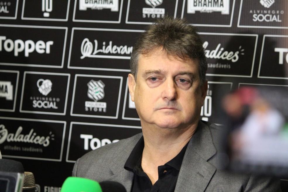 Claudio Honigman, presidente do Figueirense Ltda — Foto: Patrick Floriani/FFC