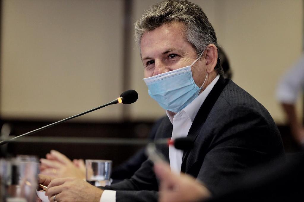 Em reunião com ministro da Saúde, governador defende que vacinas compradas pelo estado fiquem em MT