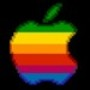 Papel de Parede: 8-Bit Apple Logo