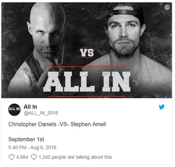 All In (Foto: Twitter)