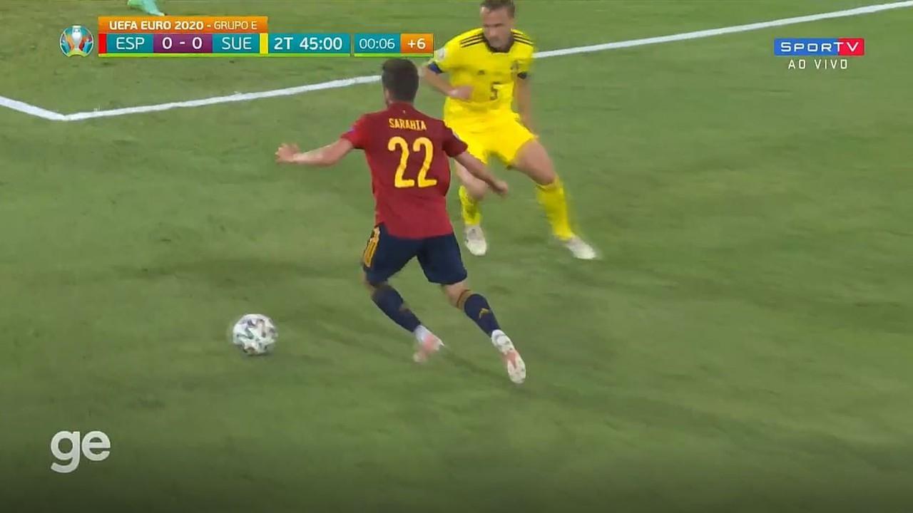 Melhores momentos: Espanha 0 x 0 Suécia pela 1ª rodada da Eurocopa