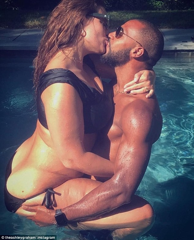 Ashley Graham e Justin Ervin (Foto: Instagram)