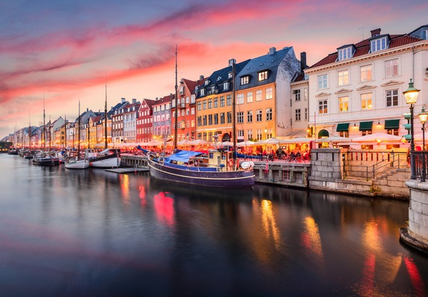 Copenhague, capital da Dinamarca (Foto: Thinkstock)