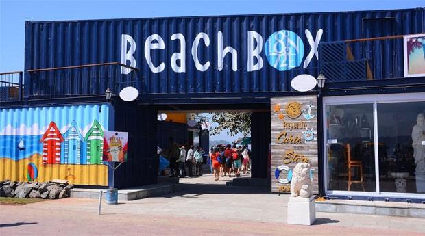 O Beach Box Hotel aposta na simplicidade  (Foto: Divulgação )