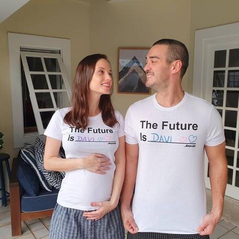 Rosanne Mulholland e Marcos Veras (Foto: Arquivo pessoal)
