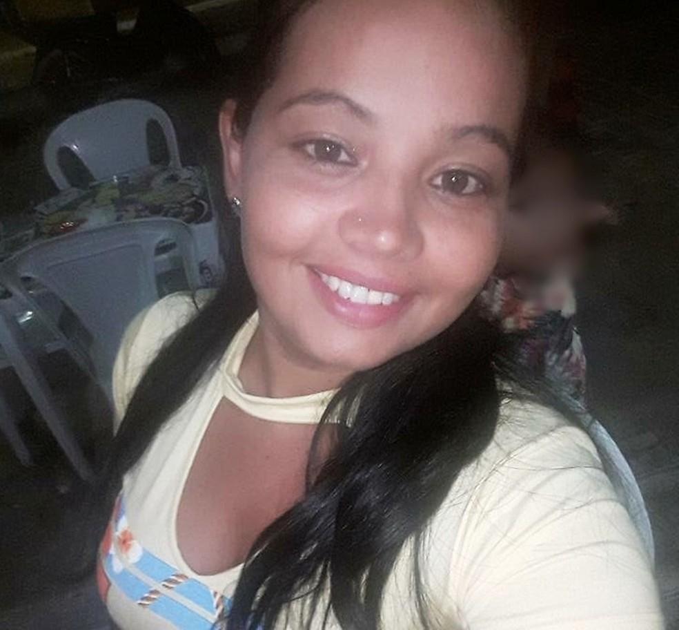 Roseilda Pereira de Brito foi morta a tiros (Foto: Arquivo Pessoal)
