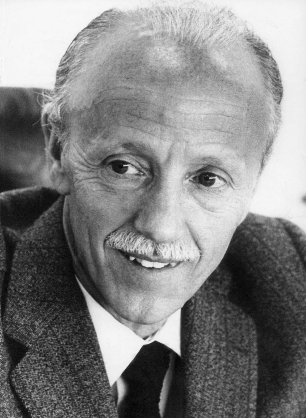 O jurista Hélio Bicudo em foto de novembro de 1976 (Foto: Estadão Conteúdo/Arquivo)