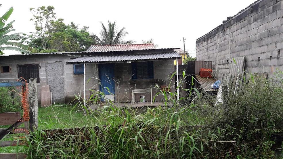 Animais estavam abandonados há dois meses no quintal de uma casa  (Foto: Divulgação/Polícia Ambiental )