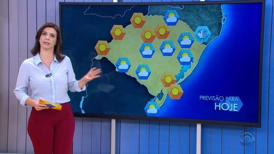 Segunda-feira começa com temperaturas baixas no Rio Grande do Sul