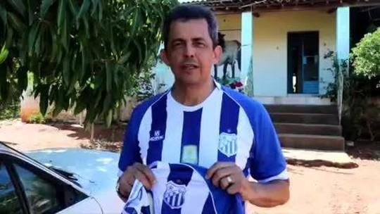 """Padre Henúbio e um time do Sertão: """"Com a graça de Deus, vamos para a Copa do Brasil"""""""